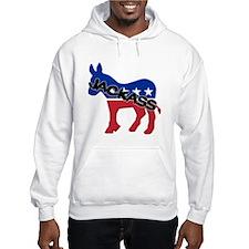 Democratic Party Jackass Symbol Hoodie