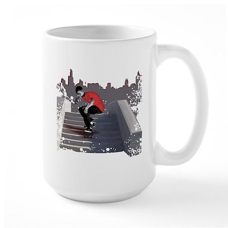8 Stair Ollie Large Mug