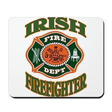 IRISH FIREFIGHTER Mousepad