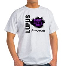 Fight Like A Girl Lupus T-Shirt