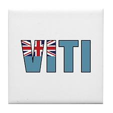 Fiji (Fijian) Tile Coaster