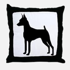 MinPin Silhouette Throw Pillow