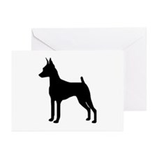 MinPin Silhouette Greeting Cards (Pk of 10)