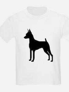MinPin Silhouette Kids T-Shirt