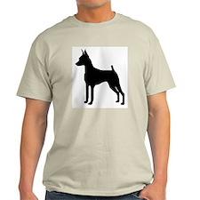 MinPin Silhouette Ash Grey T-Shirt