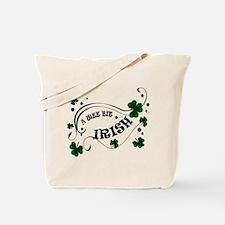 A Wee Bit Irish Shamrocks Tote Bag