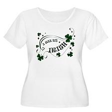 A Wee Bit Irish Shamrocks T-Shirt