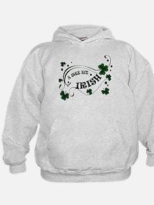 A Wee Bit Irish Shamrocks Hoodie