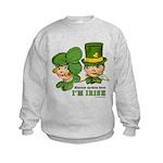 I'M IRISH Kids Sweatshirt
