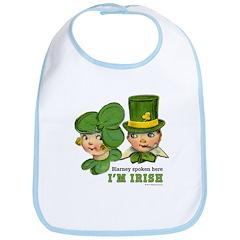I'M IRISH Bib