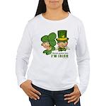 I'M IRISH Women's Long Sleeve T-Shirt