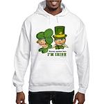 I'M IRISH Hooded Sweatshirt