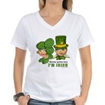 I'M IRISH Women's V-Neck T-Shirt
