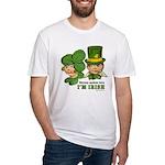 I'M IRISH Fitted T-Shirt