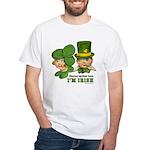 I'M IRISH White T-Shirt