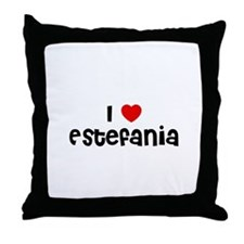 I * Estefania Throw Pillow
