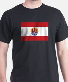 French Polynesia Flag T-Shirt