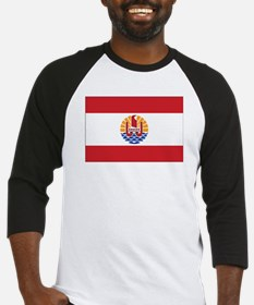 French Polynesia Flag Baseball Jersey