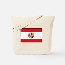 French Polynesia Flag Tote Bag