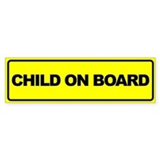 Baby on Board Car Bumper Stickers Bumper Bumper Sticker