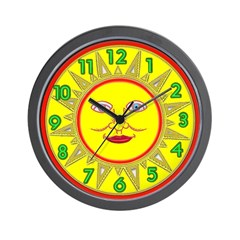 <b> SUN SERIES:</b> Wall Clock