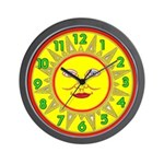 SUN SERIES:  Wall Clock