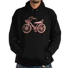 Retro Pink Bike Hoodie