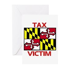 Cute Baltimore flag Greeting Cards (Pk of 10)