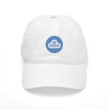 White Cloud Symbol Baseball Cap