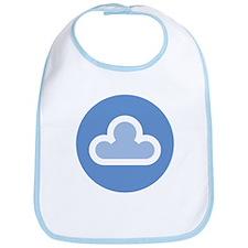White Cloud Symbol Bib