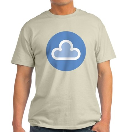 White Cloud Symbol Light T-Shirt