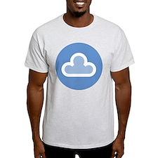 White Cloud Symbol T-Shirt