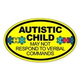 Autism stickers 10 Pack