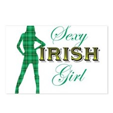 Sexy Irish Girl Postcards (Package of 8)
