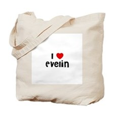 I * Evelin Tote Bag