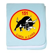 Spanish Air Force baby blanket