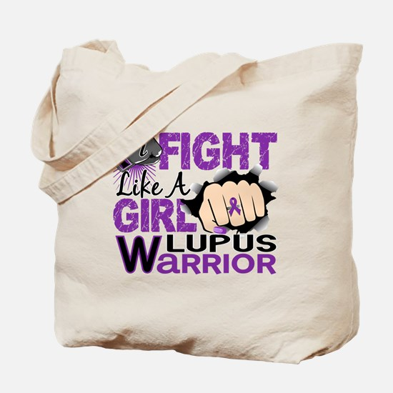 Fight Like A Girl Lupus Tote Bag