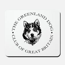 The Greenland Dog Club Of GB Mousepad
