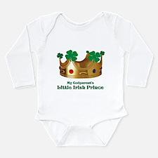 Irish Prince/Godparent's Long Sleeve Infant Bodysu