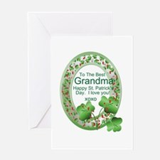 St. Pat's Day Gifts For Grand Greeting Card