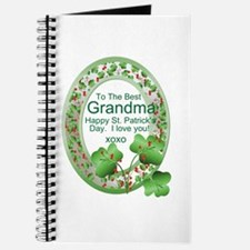 St. Pat's Day Gifts For Grand Journal