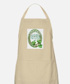 St. Pat's Day Gifts For Grand Apron