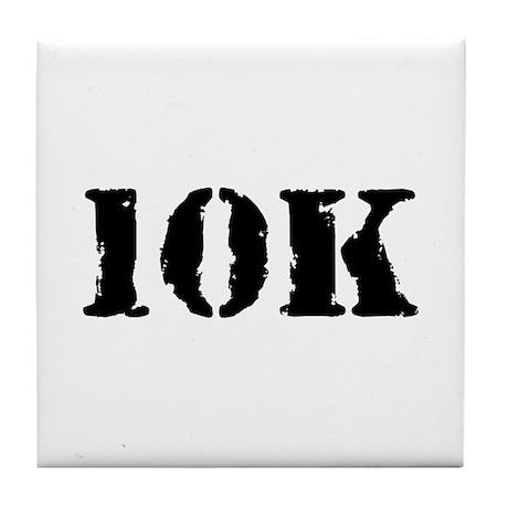10K Tile Coaster