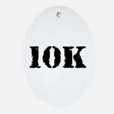 10K Ornament (Oval)