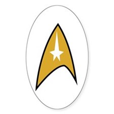 Star Trek TOS Command Badge Decal