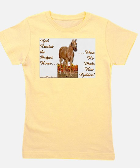 Golden Palomino Ash Grey T-Shirt