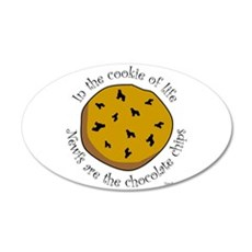 Cookie of Life 22x14 Oval Wall Peel