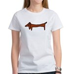 One Weiner Dog Women's T-Shirt
