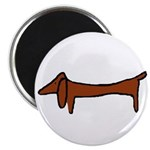 One Weiner Dog Magnet