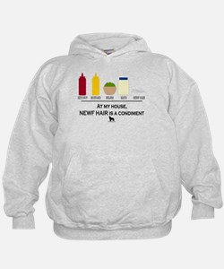Newf Hair is a Condiment Hoodie